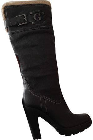 Guess \N Leather Boots for Women