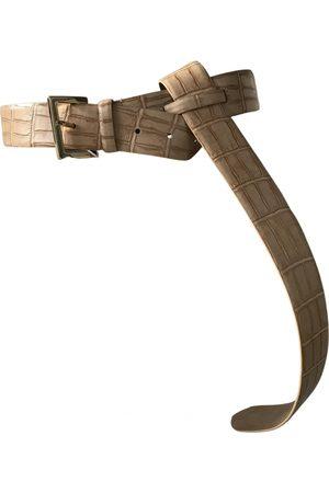 Max Mara \N Leather Belt for Women