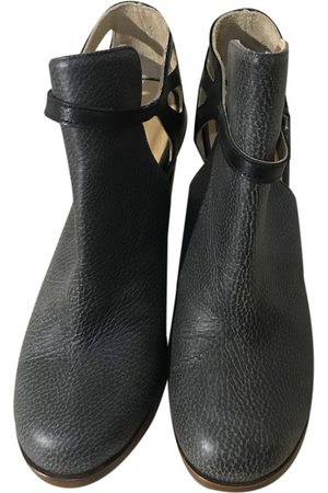 MM6 \N Leather Ankle boots for Women