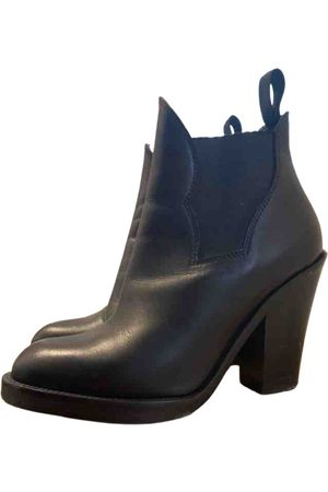 Acne Studios \N Leather Ankle boots for Women