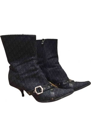 Dior \N Cloth Ankle boots for Women
