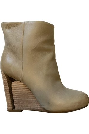 Maison Martin Margiela \N Leather Ankle boots for Women