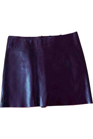 Maje Spring Summer 2019 Leather Skirt for Women