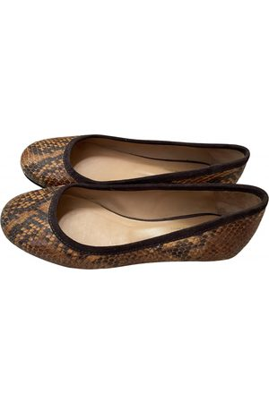 A.P.C. \N Leather Ballet flats for Women