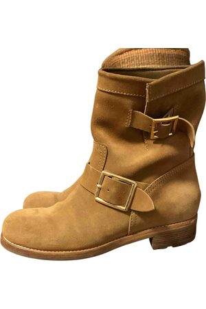 Jimmy Choo \N Suede Ankle boots for Women