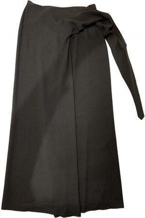 Dries Van Noten Wool maxi skirt