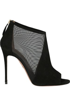 Aquazzura Women Ankle Boots - \N Leather Ankle boots for Women