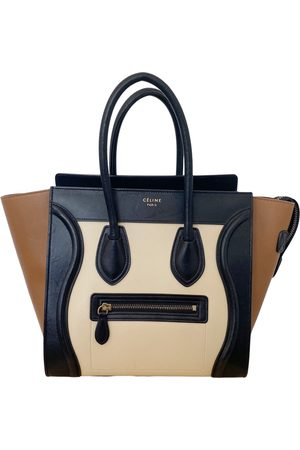 Céline Women Purses - Luggage Leather Handbag for Women