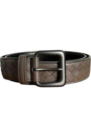 Bottega Veneta \N Leather Belt for Men