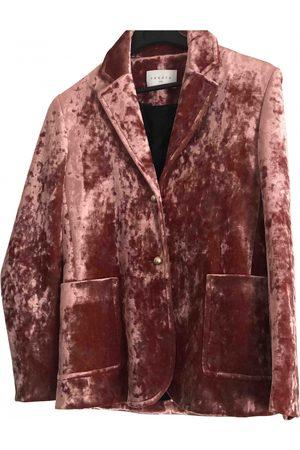 Sandro Velvet suit jacket