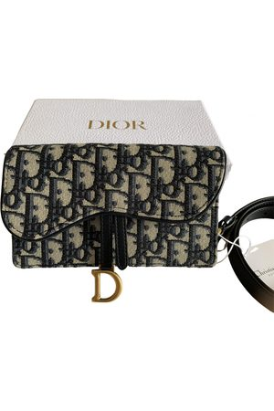 Dior Saddle Cloth Clutch Bag for Women