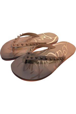 Christian Louboutin \N Rubber Sandals for Women