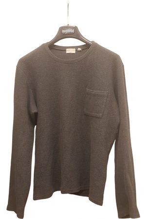 Helmut Lang Anthracite Cotton Knitwear & Sweatshirts