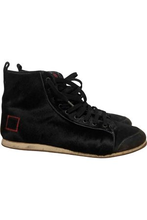 D.A.T.E. Suede Trainers