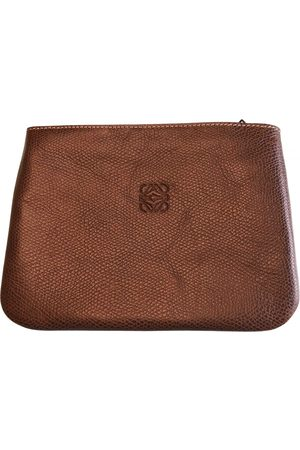 Loewe VINTAGE \N Leather Clutch Bag for Women