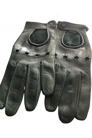 Omega \N Leather Gloves for Women
