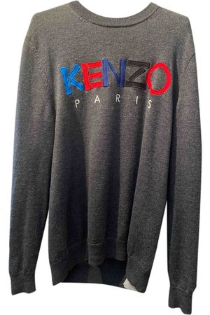 Kenzo Grey Wool Knitwear & Sweatshirts