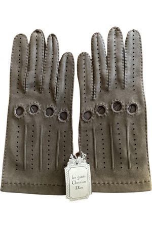 Dior VINTAGE \N Leather Gloves for Women