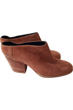 RACHEL COMEY \N Suede Mules & Clogs for Women