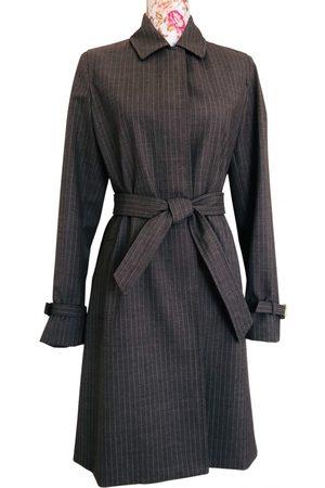 Max Mara Atelier Wool Trench Coat for Women