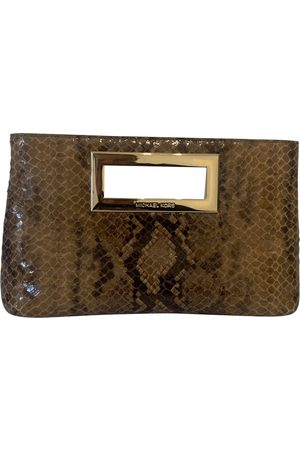 Michael Kors Women Clutches - Patent leather clutch bag