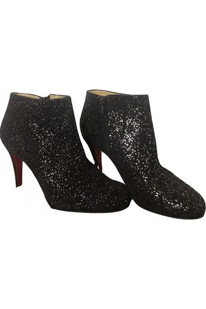 Christian Louboutin Suzy Folk Leather Ankle boots for Women