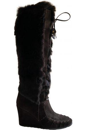 Céline \N Faux fur Boots for Women