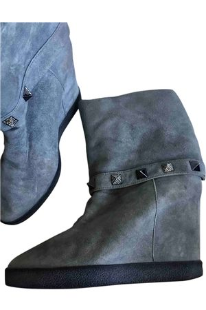 LE SILLA \N Suede Ankle boots for Women