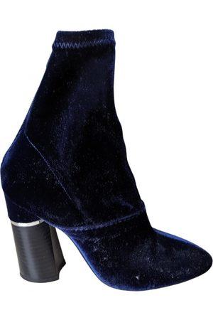 3.1 Phillip Lim \N Velvet Ankle boots for Women
