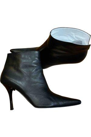 Céline Unhidden Leather Ankle boots for Women