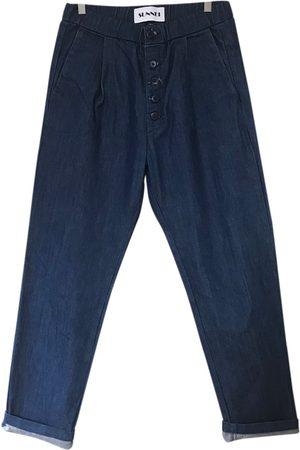 SUNNEI \N Cotton Jeans for Men