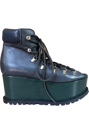 SACAI Women Ankle Boots - \N Leather Ankle boots for Women