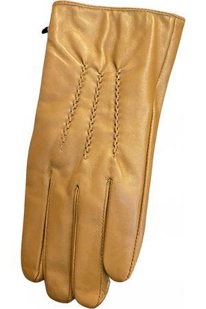 FIGARET Camel Leather Gloves