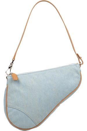 Dior VINTAGE Saddle Denim - Jeans Clutch Bag for Women