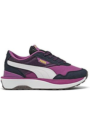 PUMA Women Casual Shoes - Women's Cruise Rider International Women's Day Casual Shoes in /Byzantium Size 6.5 Suede