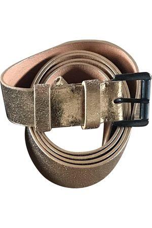 ANN DEMEULEMEESTER \N Leather Belt for Women
