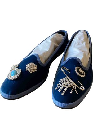 GIANNICO \N Velvet Ballet flats for Women