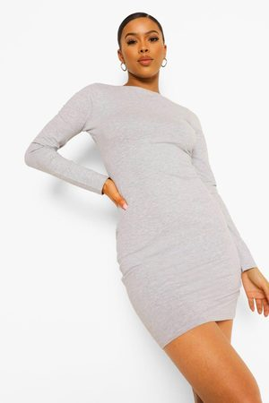 Boohoo Womens Long Sleeve Bodycon Mini Dress - - 2