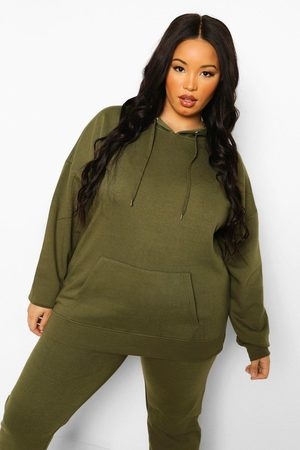 Boohoo Womens Plus Basic Oversized Hoody - - 12