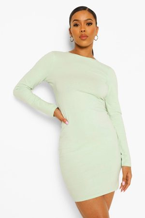 Boohoo Womens Long Sleeve Bodycon Mini Dress - - 2