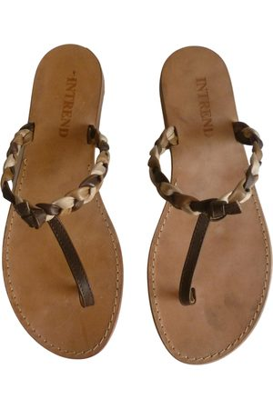 Max Mara \N Leather Sandals for Women