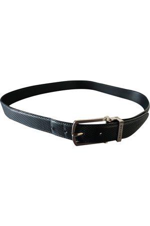 Rochas \N Leather Belt for Men