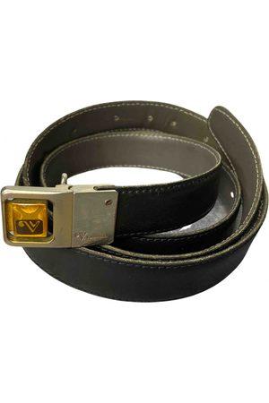VALENTINO GARAVANI VINTAGE VLogo Leather Belt for Women