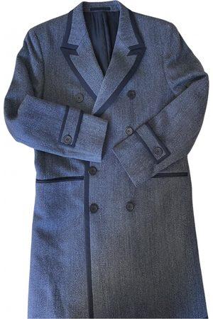 Paco rabanne Grey Wool Coats