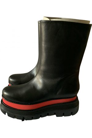 Msgm \N Leather Ankle boots for Women