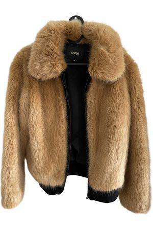 Maje Fall Winter 2019 Faux fur Coat for Women