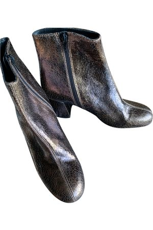 Caroll \N Leather Ankle boots for Women