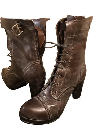 GIANNI BARBATO \N Leather Ankle boots for Women
