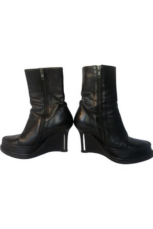 ANN DEMEULEMEESTER \N Leather Ankle boots for Women