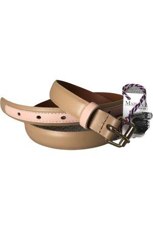 MAISON BOINET Leather Belts